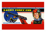 Lucky Tommy Gun Posters
