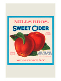 Mills Bros. Sweet Cider Posters