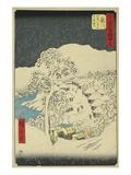 Fujikawa Prints by Ando Hiroshige