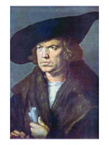 Portrait of an Unknown Posters by Albrecht Durer