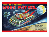 Battery Operated Moon Patrol Xt-978 Posters