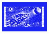 Rocket Space Ship 305 Prints