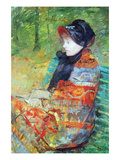Profile of Lydia Posters par Mary Cassatt