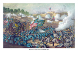 Battle of Williamsburg or the Battle of Magruder Prints