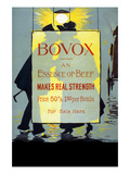 Bovox Trademark - an Essence of Beef Makes Real Strength Art by  Bovox