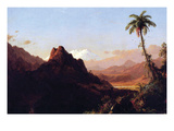 In the Tropics Prints by Frederic Edwin Church