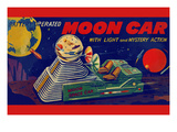 Moon Car Prints