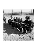 Boys Read School Books Posters by Dorothea Lange