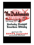 The Dutchman's Kentucky Straight Bourbon Whiskey Prints