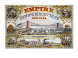 Empire Sewing Machine Company Poster by  Henry Seibert & Bros