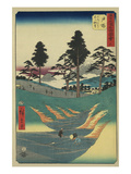 Totsuka Posters by Ando Hiroshige
