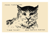 Twas the Cat. Seek Captain Porter Poster by  Theo Leonhardt & Son