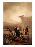 Comicos Ambulantes Posters by Francisco de Goya
