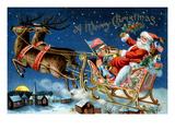 A Merry Christmas Umělecké plakáty