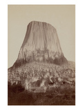 Devil's Tower Posters by John C.H. Grabill