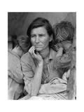 Dorothea Lange - Destitute Pea Pickers Plakát