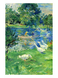 View in Bologne Premium Giclee Print by Berthe Morisot