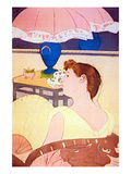 The Lamp Prints by Mary Cassatt