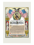 Emancipation Proclamation Premium Giclee Print by  Strobridge