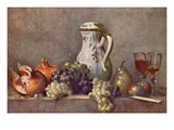 Still Life with a Porcelain Jug Prints by Jean-Baptiste Simeon Chardin