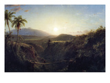 Scene in the Andes Posters by Frederic Edwin Church