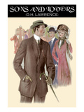 D H Lawrence, Sons & Lovers cover, Poster