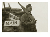 Broadway Comes the European Theatre in World War Ii Print