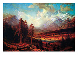 Estes Park Prints by Albert Bierstadt