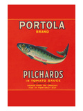 Portola Brand Pilchards Posters