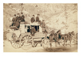 The Deadwood Coach Premium Giclee Print by John C.H. Grabill