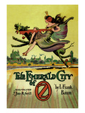The Emerald City of Oz Premium Giclee Print by John R. Neill