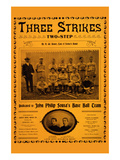 Three Strikes Two-Step Prints by  Bauer Brothers Music Co