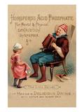 "Horsford's Acid Phosphate ""The Little Dancer"" Premium Giclee Print"