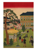 Second National Industrial Exhibition at Ueno Park No.1 Premium Giclee Print by Ando Hiroshige