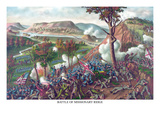 Battle of Missionary Ridge Print