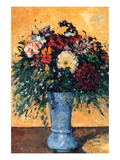 Bouquet of Flowers in a Vase Posters by Paul Cézanne