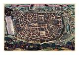 Solomon's Temple - Jerusalem Premium Giclee Print by Braun Hogenberg