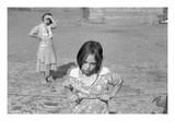 Child of a Rehab Client Premium Giclee Print by Dorothea Lange