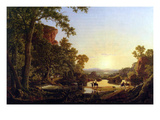 Hooker and Convoy Pass Through the Wilderness of Plymouth to Hartford Posters by Frederic Edwin Church