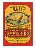 Telmo Brand American Sardines Posters
