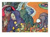 Promenade in Arles by Van Gogh Posters by Vincent van Gogh