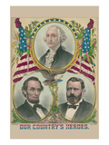Our Country's Heroes Art by E.C., Bridgman