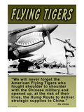 Flying Tigers Prints by Wilbur Pierce