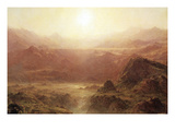The Andes of Ecuador Prints by Frederic Edwin Church
