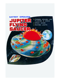 Jupiter Flying Saucer Posters