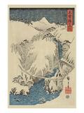 Mountains and Rivers on the Kiso Road (Kisoji No Sansen) No.3 Posters by Ando Hiroshige
