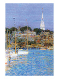Cat Boats, Newport Art by Childe Hassam
