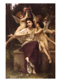 Ave De Primetimes Prints by William Adolphe Bouguereau