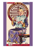 Sammy Wong the Tea Totaler Poster