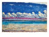 His Lake Affischer av Ferdinand Hodler